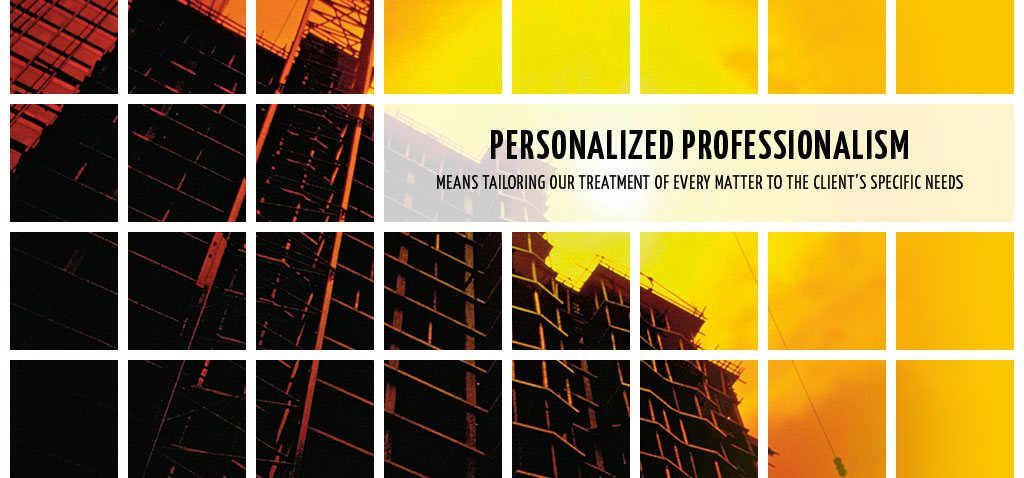 Slide - Personalized Professionalism