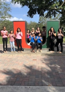 Women of Tomorrow Field Trip to University of Miami School of Law